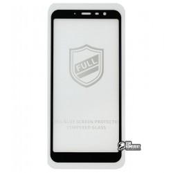 Закаленное защитное стекло для Meizu M6t, 0,26 мм 9H, 2.5D, Full Glue, черное