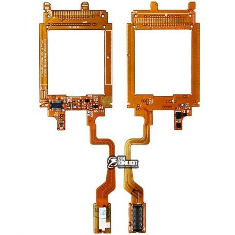 Шлейф для Samsung E330, межплатный, с компонентами