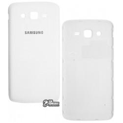Задня кришка батареї для Samsung G7102 Galaxy Grand 2 Duos, біла