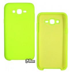 Чехол для Samsung J700 Galaxy J7, Silicone Cover, силиконовый