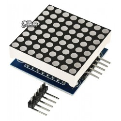 Светодиодная матрица 8x8 на MAX7219 для Arduino