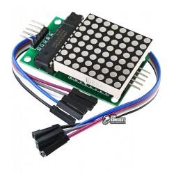 Светодиодная матрица 8x8 на MAX7219 DIP для Arduino