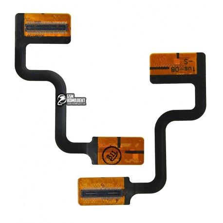 Шлейф для мобильного телефона Nokia 6290, межплатный, с компонентами