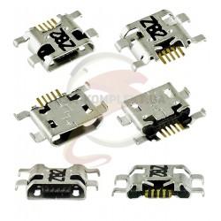 Коннектор зарядки для Huawei G8, Mate 8, 5 pin, micro-USB тип-B