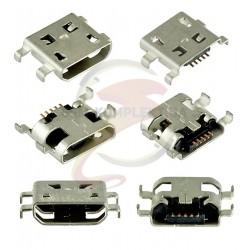 Коннектор зарядки для; планшетов, 5 pin, micro-USB тип-B, тип 15