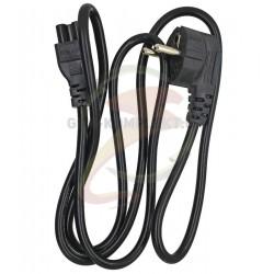 Кабель питания для ноутбука 3-контактный (миккимаус) 3 pin, черный