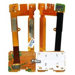 Шлейф для Nokia 7610sn, межплатный, с компонентами, с верхним клавиатурным модулем