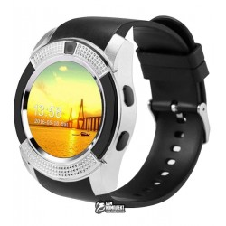 Смарт часы Smart Watch V8, серебро