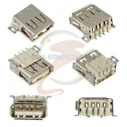 Гнездо USB-A SMD USB-02-A-FS-90
