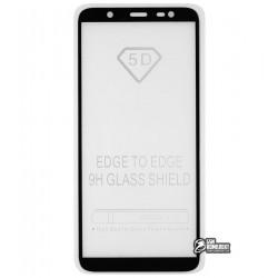 Закаленное защитное стекло для Samsung J810 Galaxy J8 (2018), Full Glue, 2.5D, 0,26 мм 9H
