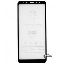 Закаленное защитное стекло для Samsung A730 Galaxy A8 Plus (2018), 0,26 мм 9H, 3D