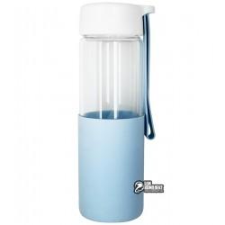 Бутылка для воды Muse, стеклянная в силиконовой защите