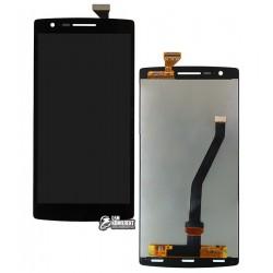 Дисплей для OnePlus One, черный, с сенсорным экраном (дисплейный модуль)