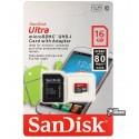 Карта памяти 16 GB microSDHC SanDisk Ultra C4