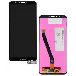 Дисплей для Huawei Enjoy 8 Plus, Y9 (2018), черный, с сенсорным экраном (дисплейный модуль), Original (PRC), FLA-LX1/FLA-LX3
