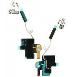 Шлейф для планшетов Apple iPad 3, iPad 4, антенны GPS, с компонентами