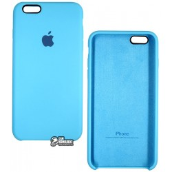 Чехол защитный Silicone Case для Apple iPhone 6 Plus / 6s Plus, силиконовый, софттач, белый