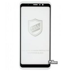 Закаленное защитное стекло для Meizu M8 Note, 0,26 мм 9H, 2.5D, Full Glue, черное