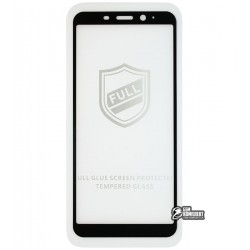 Закаленное защитное стекло для Meizu M6s, 0,26 мм 9H, 2.5D, Full Glue, белое