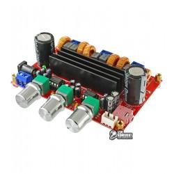 Аудио усилитель XH-M139 D-класса 2.1 на TPA3116D2 2x50W+100W