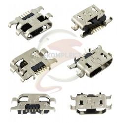 Коннектор зарядки для Doogee X9 mini, T6 Lenovo A6020, 5 pin, micro-USB
