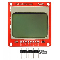 Дисплей Nokia 5110 экран для Arduino