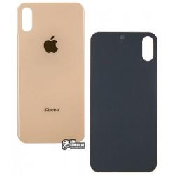 Задняя панель корпуса для Apple iPhone XS, золотистая