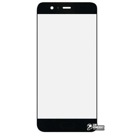 Стекло корпуса для Huawei P10, черное