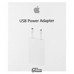Сетевое зарядное устройство Apple 5W USB Power Adapter (из комплекта) (MD813)