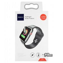 Защитная пленка для смарт часов Apple Watch 38мм, Rock Hydrogel Screen Protector
