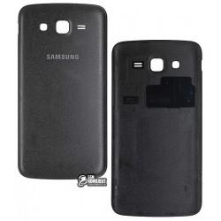 Задня кришка батареї для Samsung G7102 Galaxy Grand 2 Duos, чорна