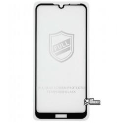 Закаленное защитное стекло для Huawei Y6 (2019), 0.26 mm 9H, 2,5D, Full Glue, черное