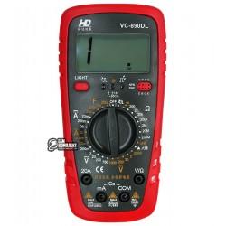 Мультиметр цифровой VC890DL (ток до 20A)