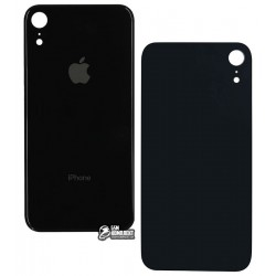 Задняя панель корпуса для Apple iPhone XR, черная