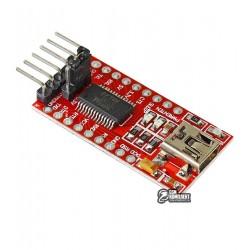 Модуль преобразователя USB to UART на базе микросхемы FT232RL