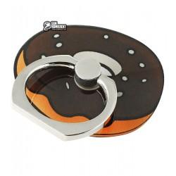 Кольцо держатель My Style, шоколадный пончик