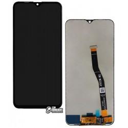Дисплей для Samsung M205F/DS Galaxy M20, черный, с сенсорным экраном, Original (PRC), original glass