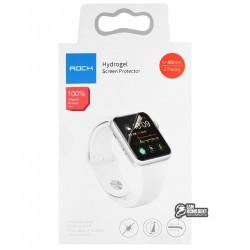 Защитная пленка для смарт часов Apple Watch 40мм, Rock Hydrogel Screen Protector
