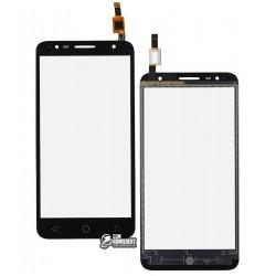 Тачскрин для Alcatel One Touch 5056D Pop 4 Plus, черный