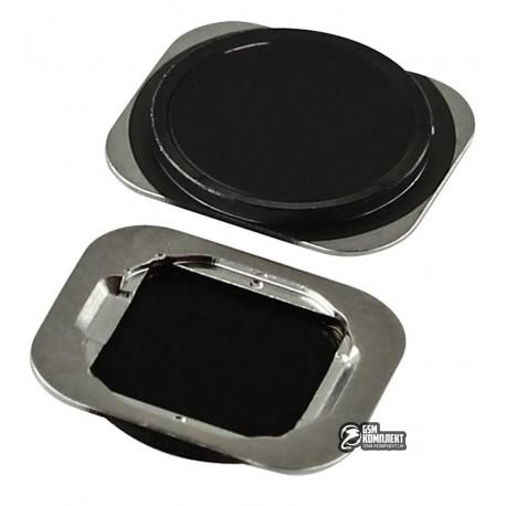 Пластик кнопки меню для Apple iPhone 6, iPhone 6 Plus, iPhone 6S, iPhone 6S Plus, черный