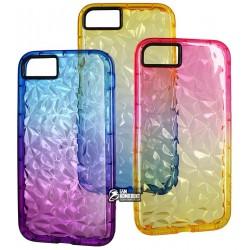 Чехол для iPhone 7, iPhone 8, Gradient gelin case (TPU), силиконовый, прозрачный