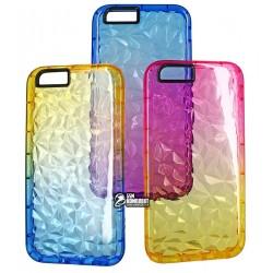Чехол для iPhone 6, iPhone 6s, Gradient gelin case (TPU), силиконовый, прозрачный