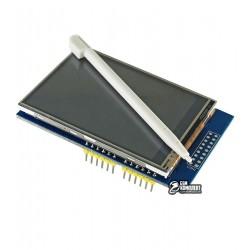TFT дисплей 3,3 дюйма, для Arduino UNO с резистивной сенсорной панелью