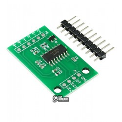 Модуль HX711 для тензодатчиков 24-битный АЦП с усилителем