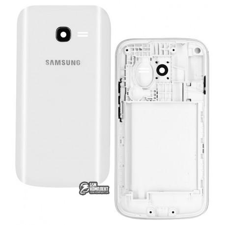 Корпус для Samsung S7262 Galaxy Star Plus Duos, білий