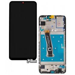 Дисплей для Huawei P Smart (2019), черный, с сенсорным экраном (дисплейный модуль), с рамкой, Original (PRC)