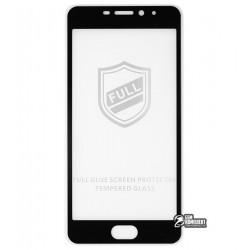 Закаленное защитное стекло для Meizu M5 NOTE, 0,26 mm 9H, 2.5D, Full Glue, черное