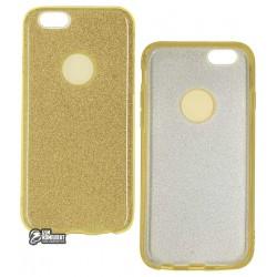 Чехол для Apple Iphone 6G, Twins, силикон+пластик