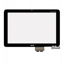 Тачскрин для планшетов Acer Iconia Tab A210, Iconia Tab A211, черный, #69.10I22.G04