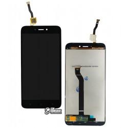 Дисплей Xiaomi Redmi Go, черный, с сенсорным экраном (дисплейный модуль), Original (PRC)